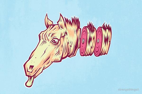 ham horse