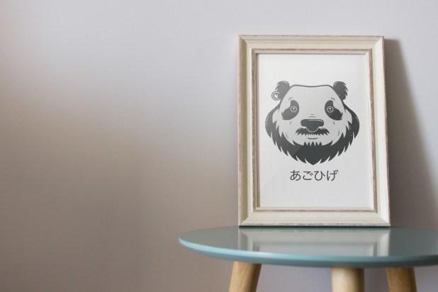 panda bear(d)