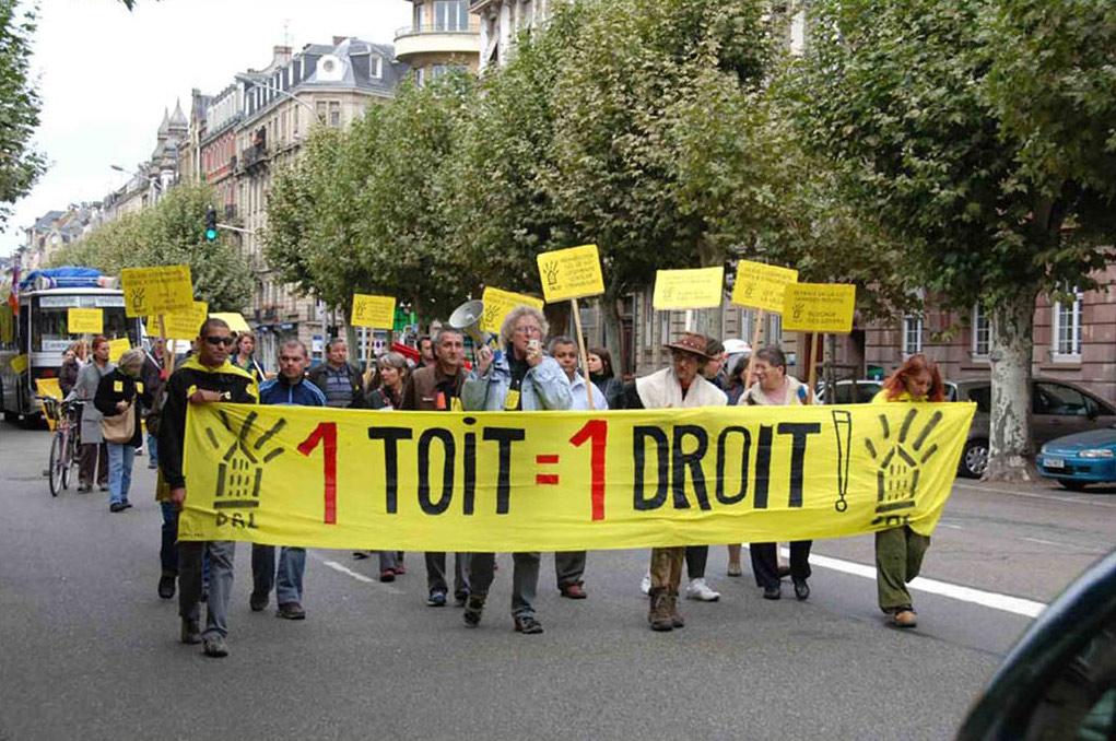 manifestation-de-la-caravane-du-droit-au-logement-10-octobre-2009
