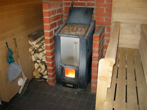 Medium Of Modern Wood Burning Stove