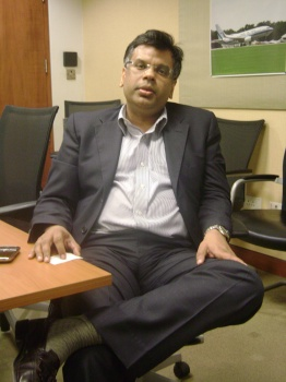 Dr. Vivek Lall, Vice President and Country Head, Boeing Integrated Defense Systems.