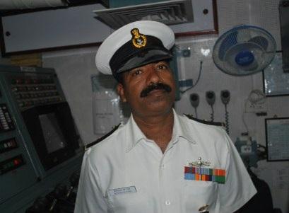 Master Chief Petty Officer Bederedla C Rao.