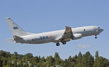 Navy's P-8I takes off