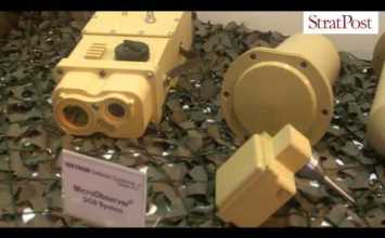 Video: Textron's Micro Observer ground sensor & Spider networked munition system