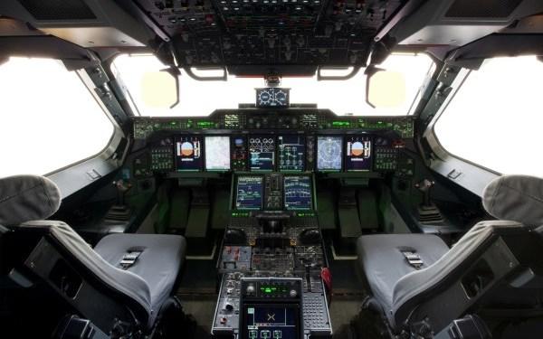 52. A400M cockpit