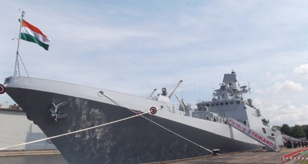 INS Trikand stealth frigate joins navy
