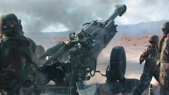 An M-777 howitzer in action | Photo: BAE Systems India