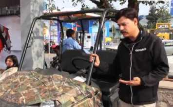 Video: Polaris ATV offroaders at DefExpo
