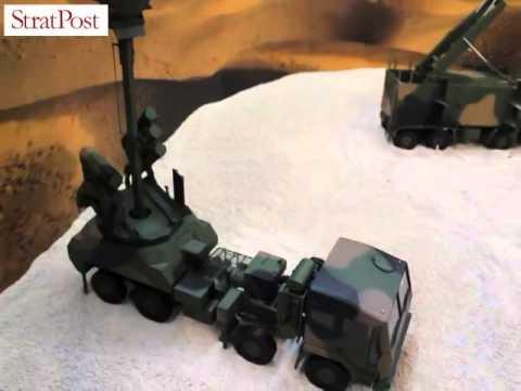 Video: Saab's Bamse Ashok Leyland-mounted SRSAM at DefExpo