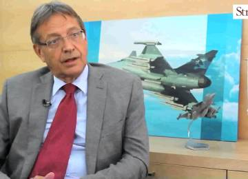 Saab offers #MakeinIndia plan for the Gripen (+ Video)