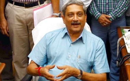 Defence Minister Manohar Parrikar   Photo: DPR