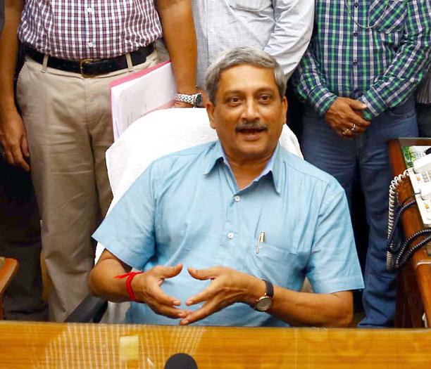Defence Minister Manohar Parrikar | Photo: DPR