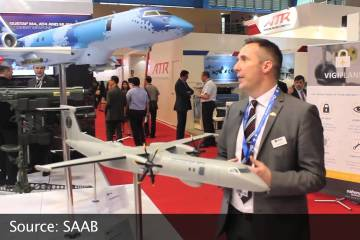 Video: Saab Swordfish MPA at the Singapore Airshow 2016