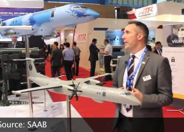 Video: Saab Swordfish MPA at the Singapore Airshow 2016