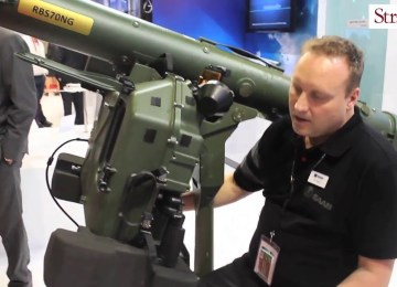 Video: Saab's RBS70 NG at the Singapore Airshow 2016