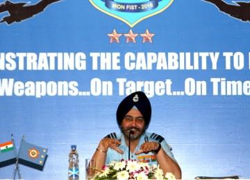 IAF admits unprepared for 2-front defense