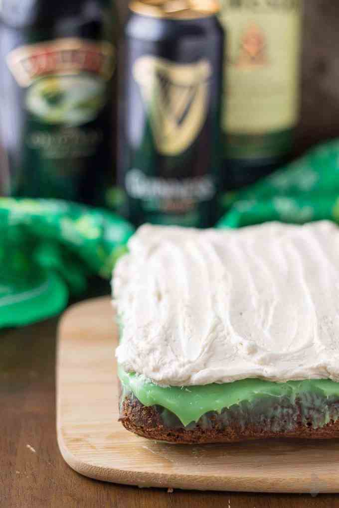 ... Irish Car Bomb Brownies are made of! Decadently sweet, these brownies