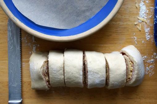 Ham & Gruyère Breakfast Buns