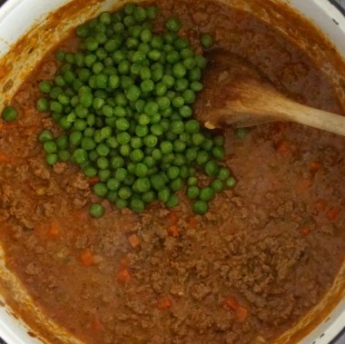 Lamb Ragu Bolognese with Peas & Mint