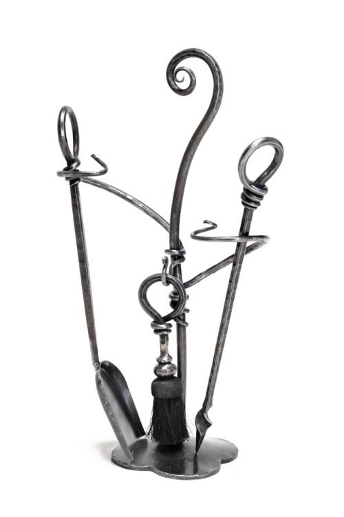 Companion set, hand forged