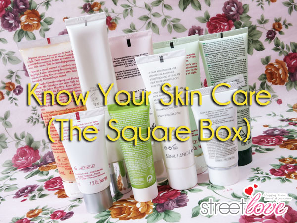Know Your Skin Care: The Colored Square Box At The Back of Various Product Tubes