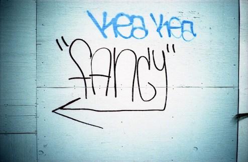 fancy graffiti in the west village of NYC