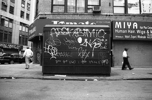 you got glue? i got shoes graffiti found in union square of NYC