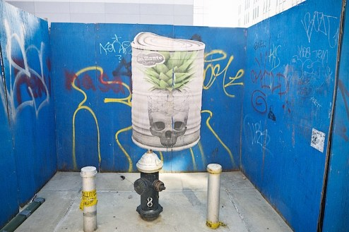 street art by kid zoom in williamsburg, brooklyn