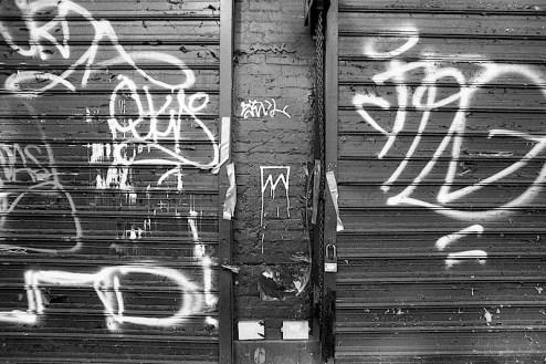 graffiti by TMNK aka Nobody found in nyc