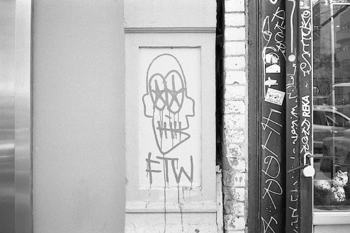 ftw graffiti in nyc