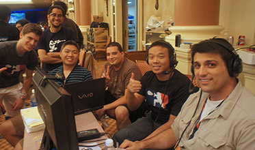 The ST Revival crew hard at work at EVO 2012