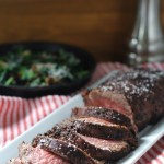 Coffee Rubbed Tenderloin | StrictlyDelicious.com