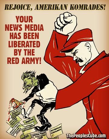 Media Liberated by Red Army