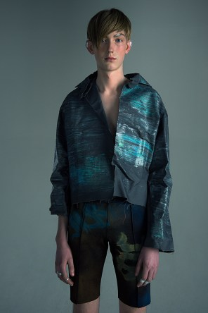 Arthur @ Team Models - Photo, styling: Sølvi Strifeldt - Designers: Alva Brosten and James Lazar Braathen @ JLB by James - Sanatoriet Studio
