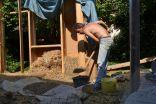 Lehmstampfboden-Earthbags