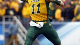 Carson Wentz out of North Dakota State went to the Eagles  at second-overall. Photo via WIKIMEDIA COMMONS