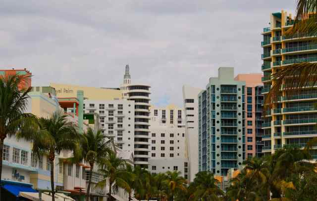 Ocean Drive, Miami Beach, SoBe, South Beach, Art Deco