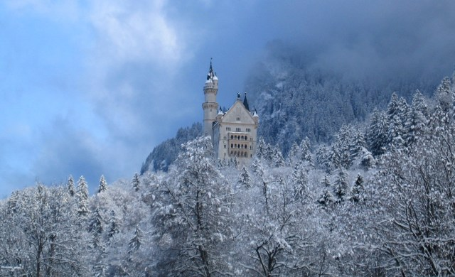 Fuessen, Germany, King Ludwig, Neuschwanstein