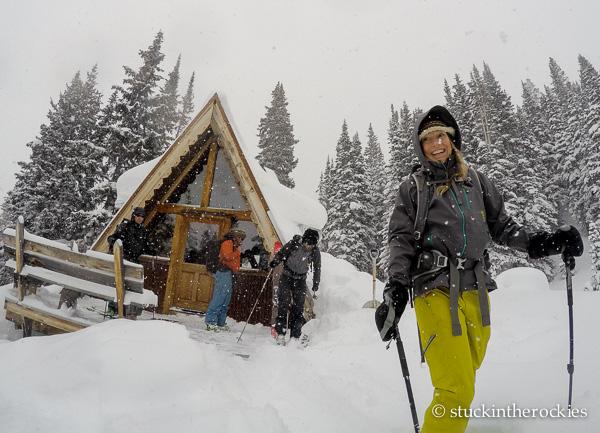 Christy Mahon at Tagert Hut