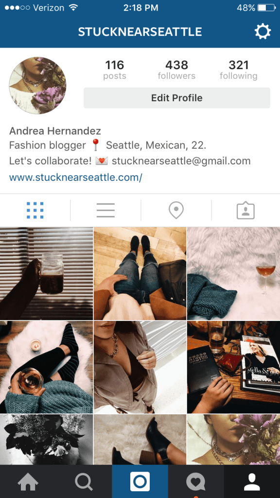 Don't forget to follow me on Instagram @stucknearseattle !!!