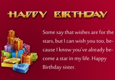 Birthday wishes and greetings to who has best sister