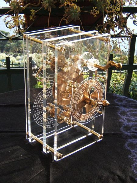 Reproduction de la machine d'Anticythère par Mogi Vicentini (2007)