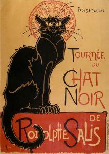 Théophile-Alexandre Steinlen, Tournée du Chat noir, 1896