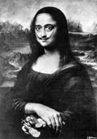 Dali - Autoportrait en Mona Lisa - 1954