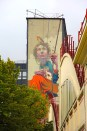 Sainer, Titre inconnu Fresque murale, Street art, 2013 13 avenue de la Porte d'Italie Paris 13e (75)