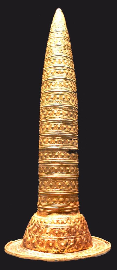 Cône de Berlin Datant de 1000-800 av. J. C. Conservé au Musée de la Préhistoire et de Protohistoire de Berlin