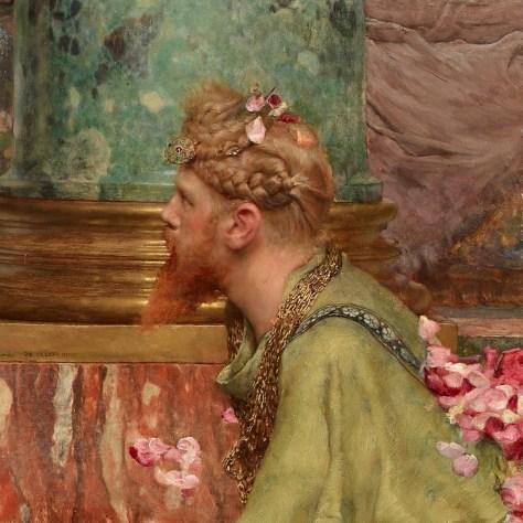 Cet homme fixe l'Empereur avec insistance. A-t-il compris ce qui se trame ? Il semble accusateur.