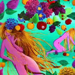 Peinture : La Corne d'Abondance