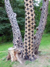 scorched wood art from Stuart Frost