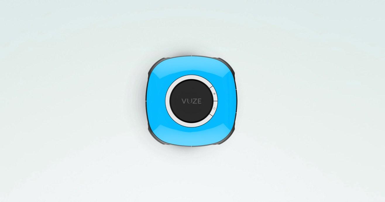 La Vuze en coloris bleu